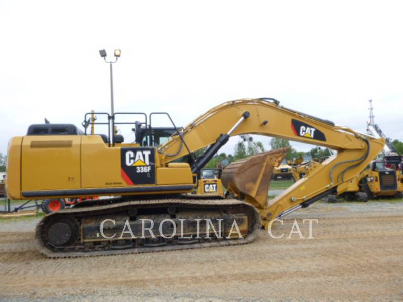 CATERPILLAR TRACK EXCAVATORS 336FL QC equipment  photo 4