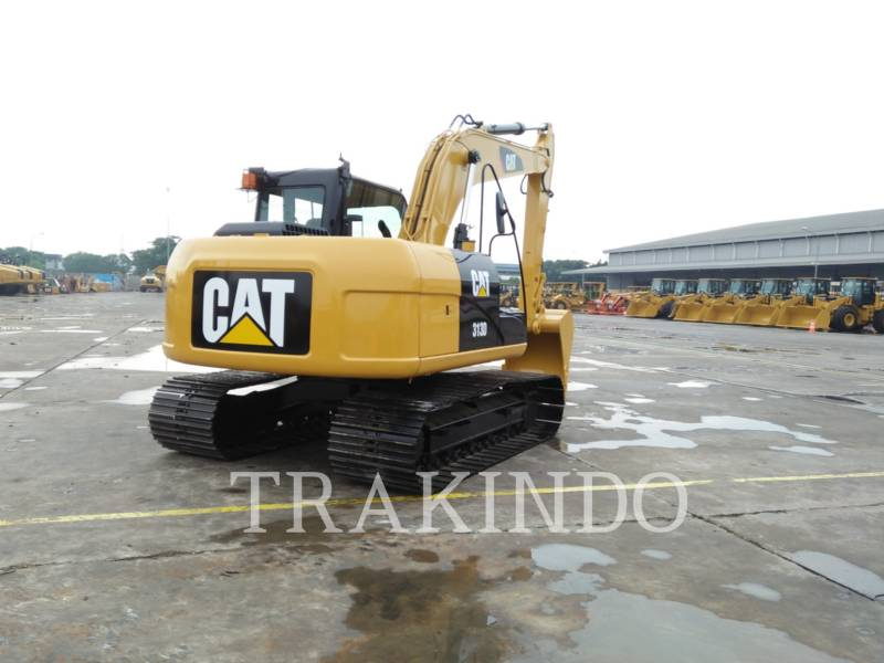 CATERPILLAR KETTEN-HYDRAULIKBAGGER 313D equipment  photo 5
