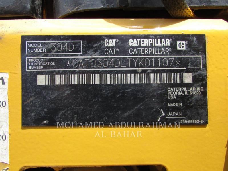 CATERPILLAR TRACK EXCAVATORS 304DCR equipment  photo 14