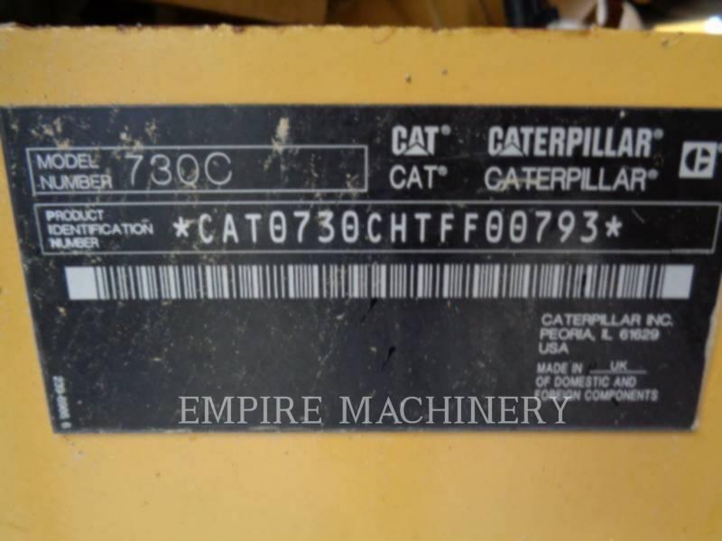 CATERPILLAR KNICKGELENKTE MULDENKIPPER 730C equipment  photo 11