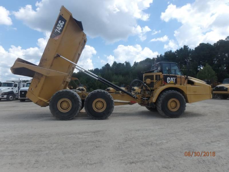 CATERPILLAR KNIKGESTUURDE TRUCKS 745 C equipment  photo 9