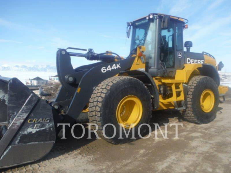DEERE & CO. CARGADORES DE RUEDAS 644K equipment  photo 1