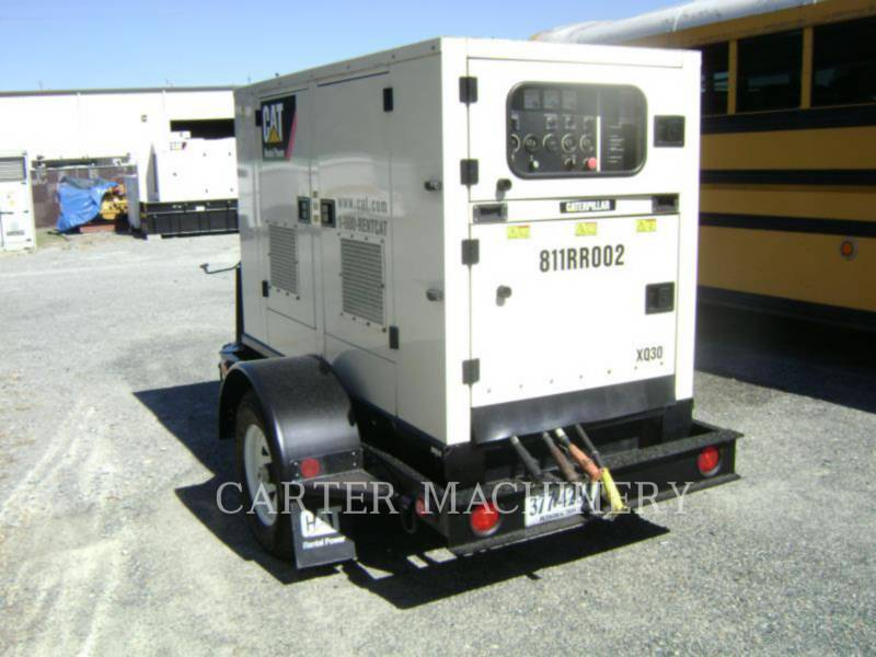 CATERPILLAR PORTABLE GENERATOR SETS XQ30-8 equipment  photo 2