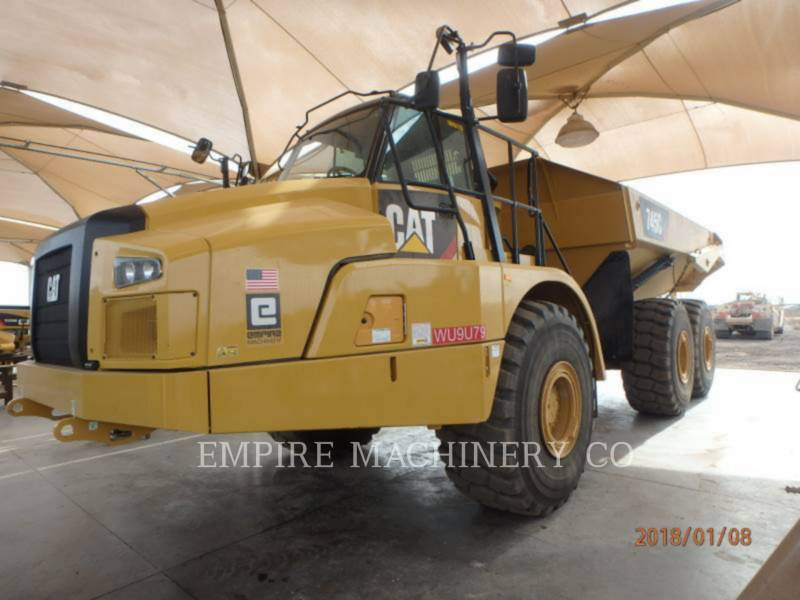 CATERPILLAR TOMBEREAUX DE CHANTIER 745C equipment  photo 4