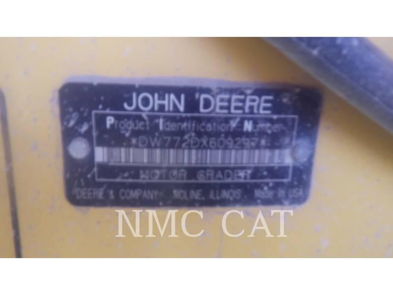 JOHN DEERE MOTORGRADER 772D_JD equipment  photo 6