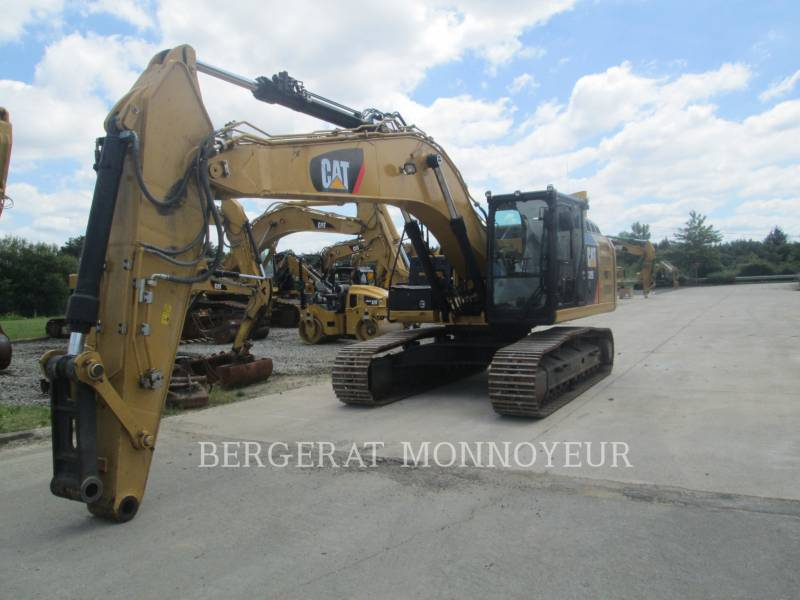 CATERPILLAR TRACK EXCAVATORS 329ELN equipment  photo 8