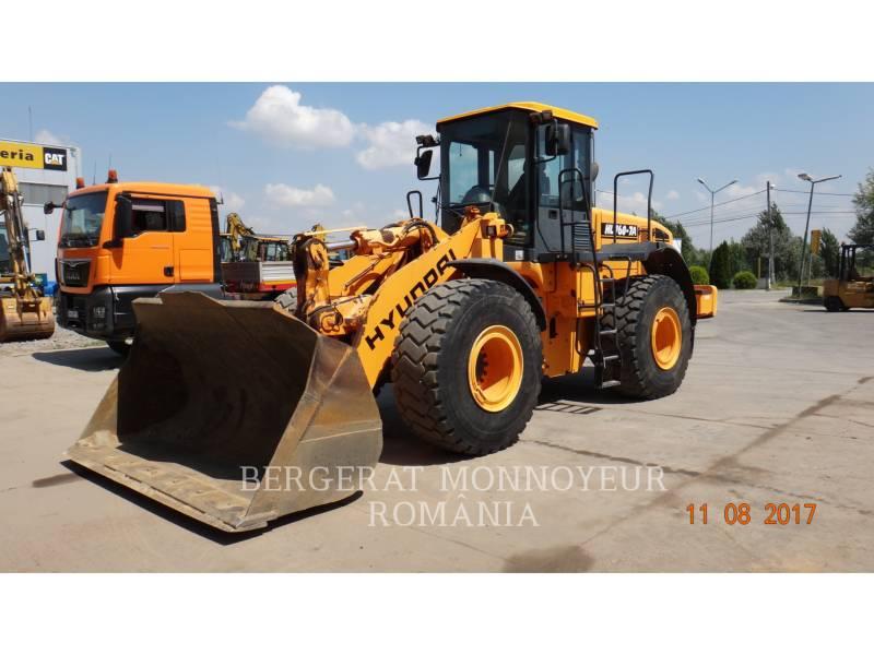 HYUNDAI CONSTRUCTION EQUIPMENT ÎNCĂRCĂTOARE PE ROŢI/PORTSCULE INTEGRATE HL760-7A equipment  photo 2