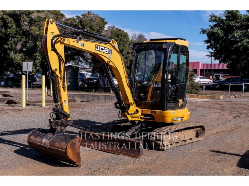 JCB TRACK EXCAVATORS 8035ZTS_JC equipment  photo 1