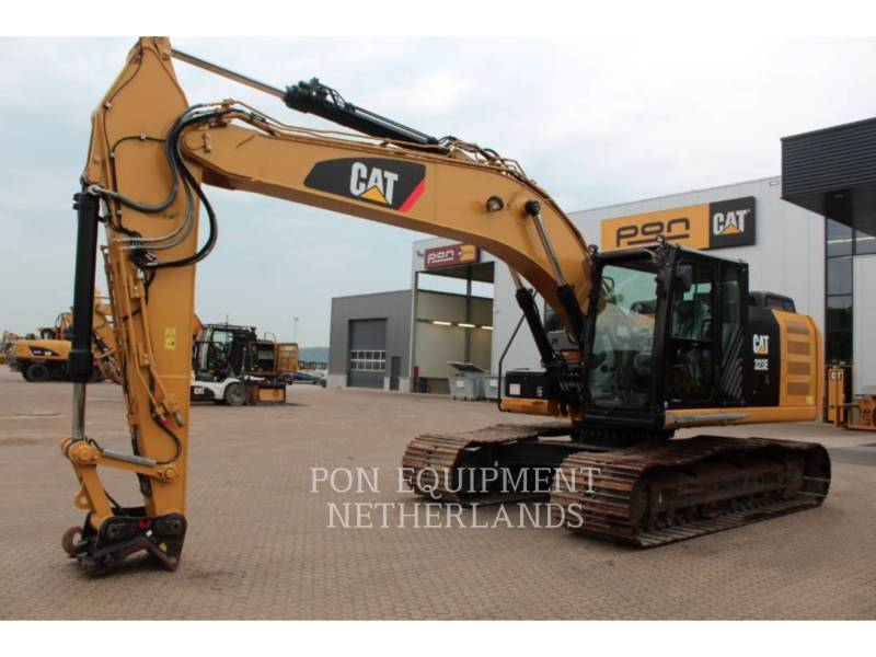 CATERPILLAR PELLES SUR CHAINES 323 EL equipment  photo 2