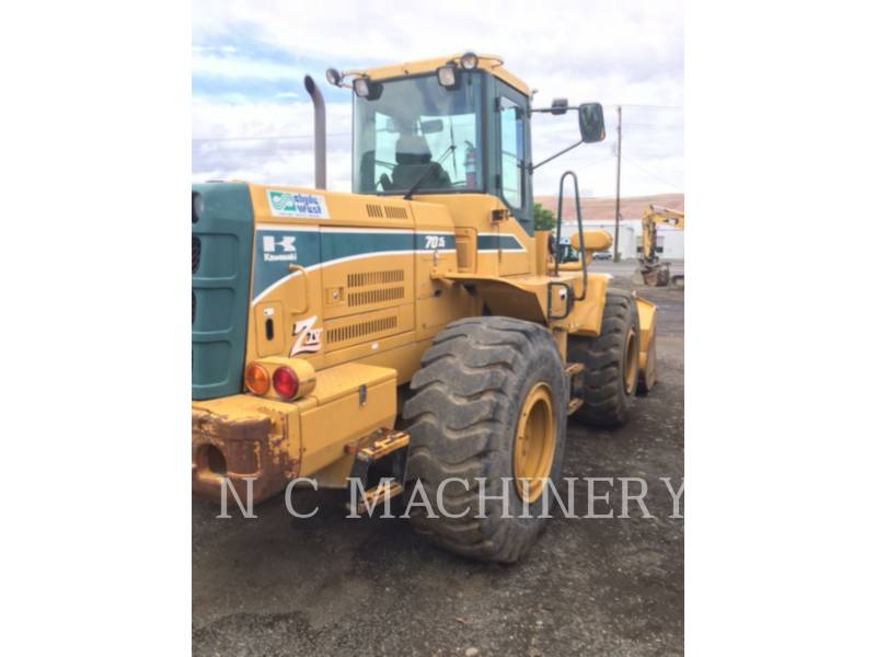 KAWASAKI WHEEL LOADERS/INTEGRATED TOOLCARRIERS 70ZIV-2 equipment  photo 10