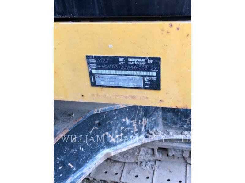 CATERPILLAR KETTEN-HYDRAULIKBAGGER 312D equipment  photo 7