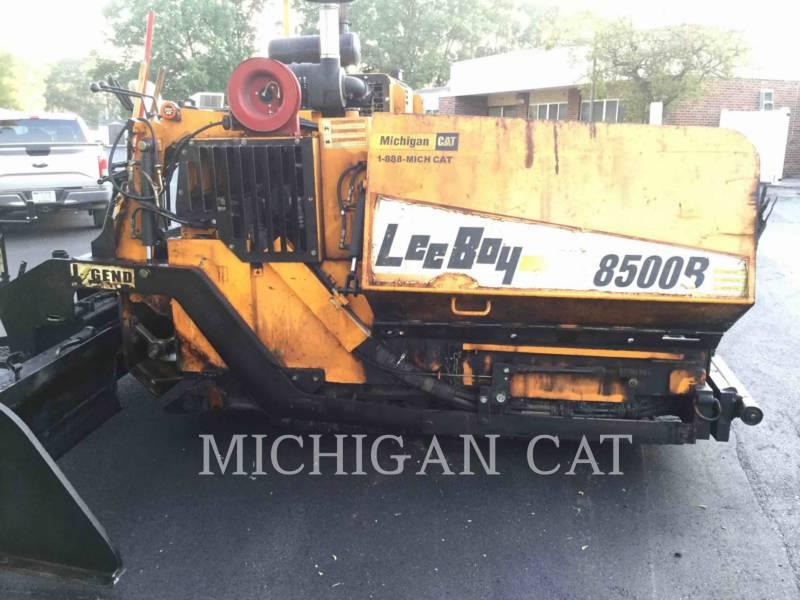 LEE-BOY ASPHALT PAVERS 8500B equipment  photo 19