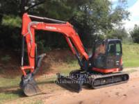 Equipment photo KUBOTA MANUFACTURING OF AMERICA KX080-4 TRACK EXCAVATORS 1