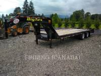 Equipment photo BIG-TEX TRAILER 3XGN-20+5 TRAILERS 1
