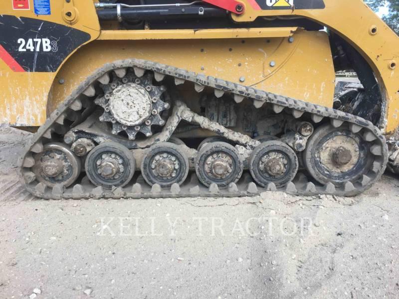CATERPILLAR CARGADORES MULTITERRENO 247B3 equipment  photo 9