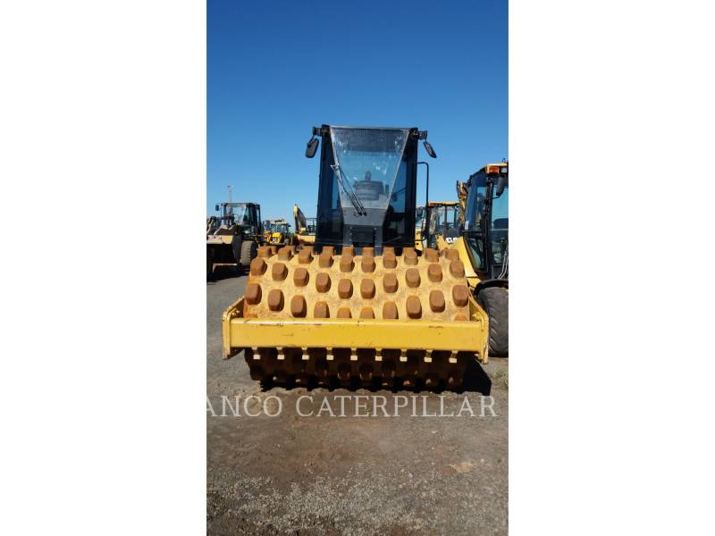 CATERPILLAR VIBRATORY SINGLE DRUM PAD CP-533E equipment  photo 3