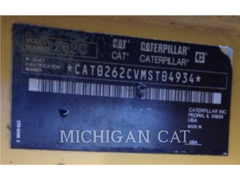 CATERPILLAR MINICARGADORAS 262C equipment  photo 9