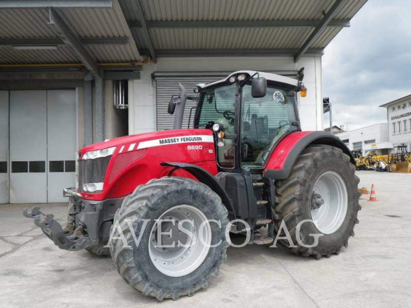 MASSEY FERGUSON TRACTEURS AGRICOLES 8690 DYNA VT equipment  photo 1