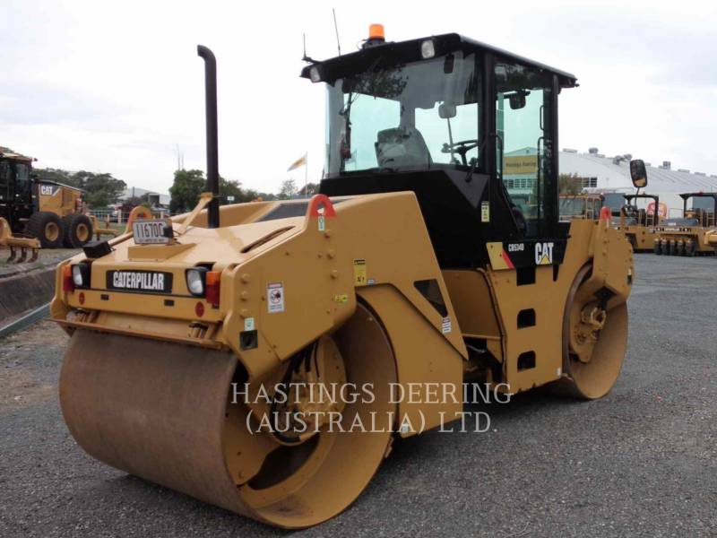 CATERPILLAR TAMBOR DOBLE VIBRATORIO ASFALTO CB-534D equipment  photo 5