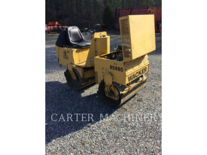 WACKER CORPORATION COMPACTADORES ROLLER equipment  photo 1