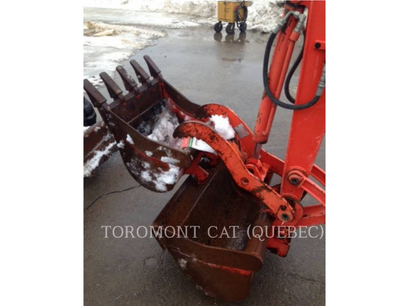 KUBOTA CORPORATION PELLES SUR CHAINES KX040-4 equipment  photo 15