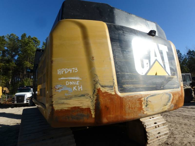CATERPILLAR TRACK EXCAVATORS 349FL equipment  photo 10