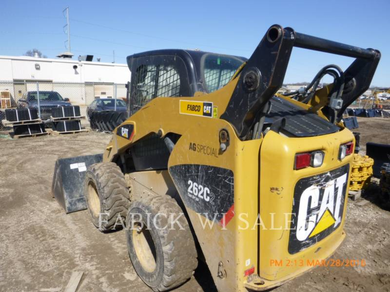 CATERPILLAR CHARGEURS COMPACTS RIGIDES 262C2 equipment  photo 3