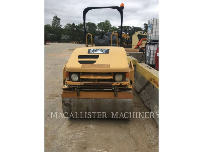 CATERPILLAR COMPACTEURS TANDEMS VIBRANTS CB34 equipment  photo 2