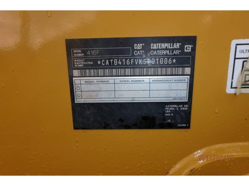 CATERPILLAR RETROESCAVADEIRAS 416FST equipment  photo 14