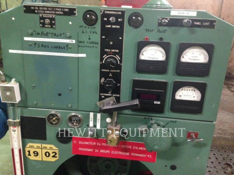 DETROIT DIESEL STATIONARY GENERATOR SETS 6-71, 100KW 120/208 VOLTS equipment  photo 5