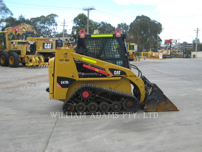 CATERPILLAR CHARGEURS TOUT TERRAIN 247 B SERIES 3 equipment  photo 2