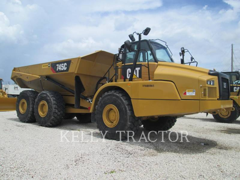 CATERPILLAR TOMBEREAUX ARTICULÉS 745C equipment  photo 1