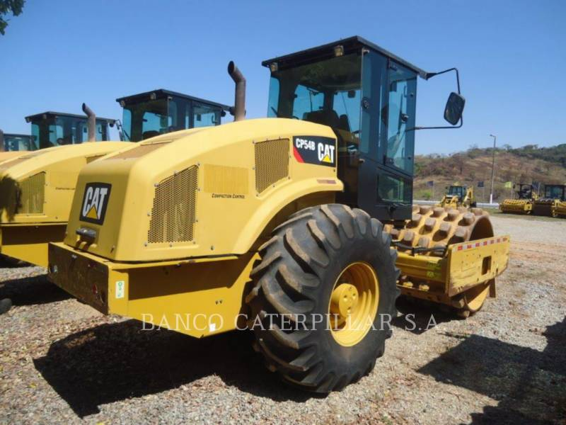 CATERPILLAR ACOLCHOADO DO TAMBOR ÚNICO VIBRATÓRIO CP54B equipment  photo 4