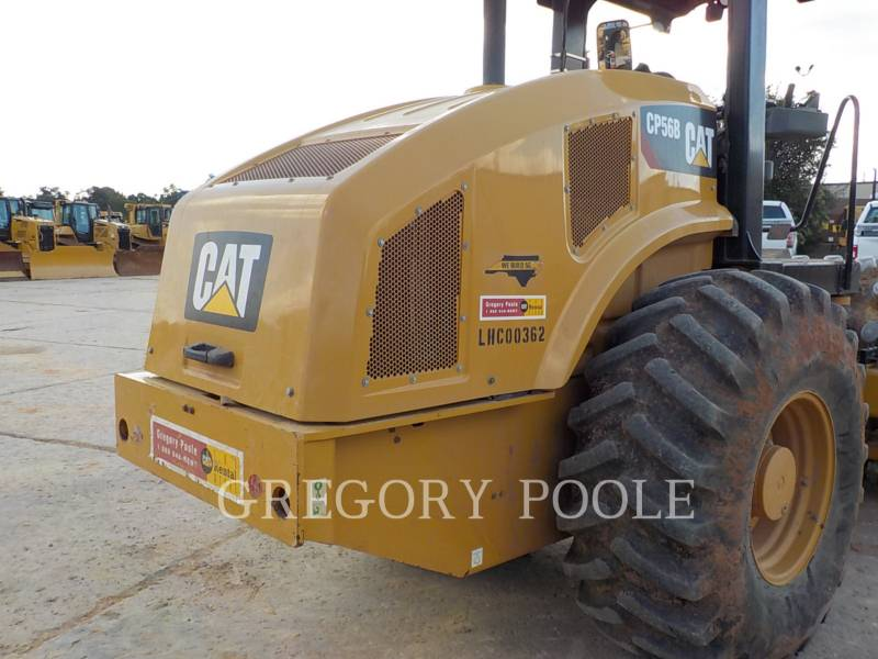 CATERPILLAR EINZELVIBRATIONSWALZE, BANDAGE CP56B equipment  photo 14