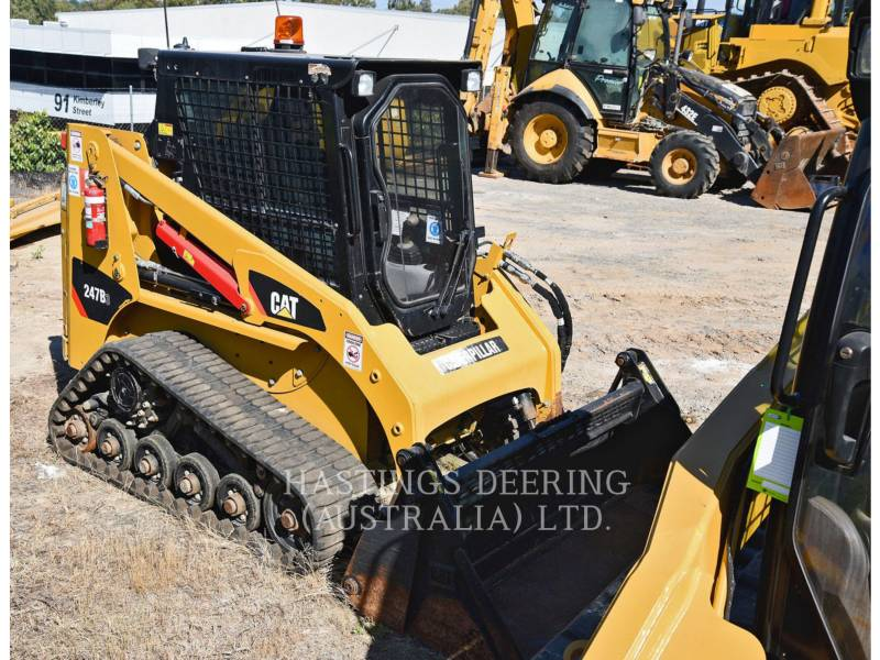 CATERPILLAR DELTALADER 247B3LRC equipment  photo 2