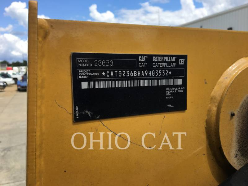 CATERPILLAR CHARGEURS COMPACTS RIGIDES 236B3 C3 equipment  photo 10