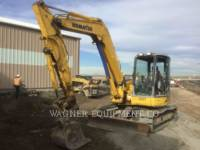 Equipment photo KOMATSU PC78MR-6 KETTEN-HYDRAULIKBAGGER 1