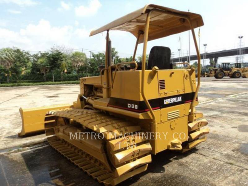 CATERPILLAR TRACK TYPE TRACTORS D3BLGP equipment  photo 6