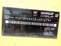 CATERPILLAR ホイール・ローダ/インテグレーテッド・ツールキャリヤ 966 H equipment  photo 11