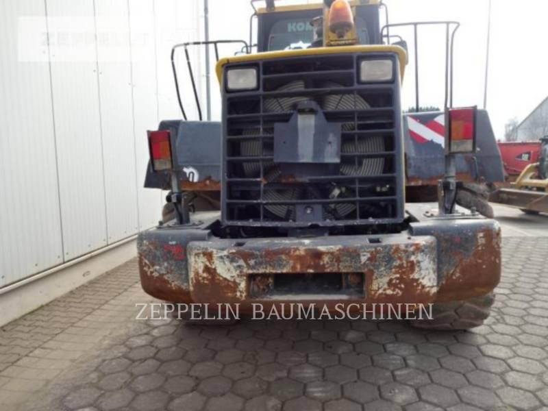 KOMATSU LTD. ŁADOWARKI KOŁOWE/ZINTEGROWANE NOŚNIKI NARZĘDZI WA430 equipment  photo 14