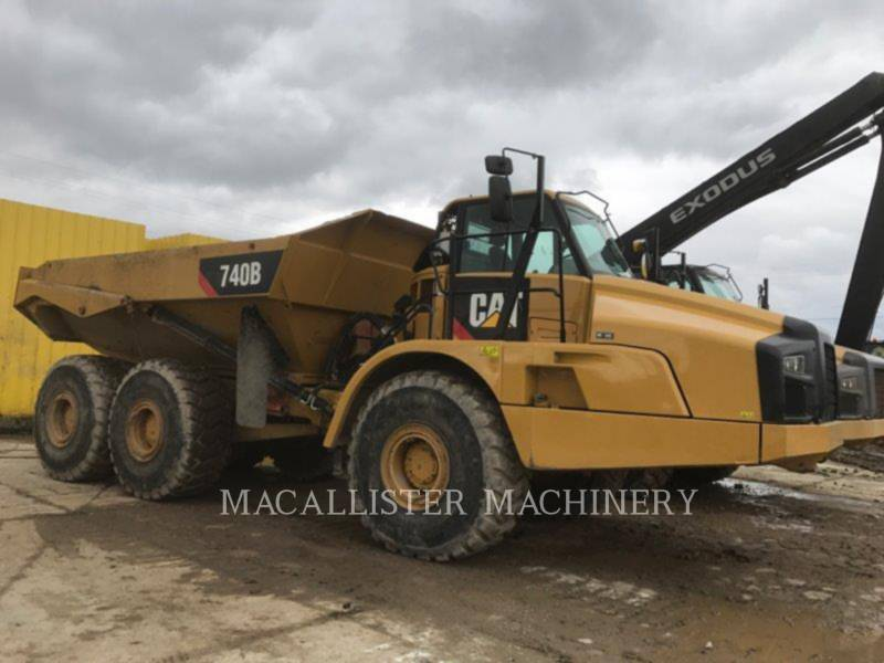 CATERPILLAR CAMINHÕES ARTICULADOS 740B equipment  photo 1