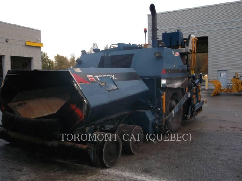 TEREX EQUIP. LTD. PAVIMENTADORA DE ASFALTO CR552 equipment  photo 5