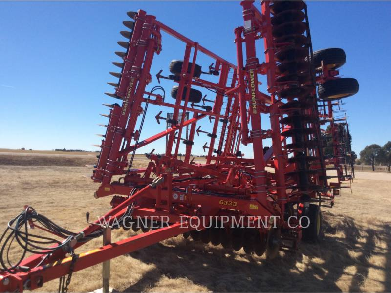 SUNFLOWER MFG. COMPANY AG TILLAGE EQUIPMENT SF6333-31 equipment  photo 5