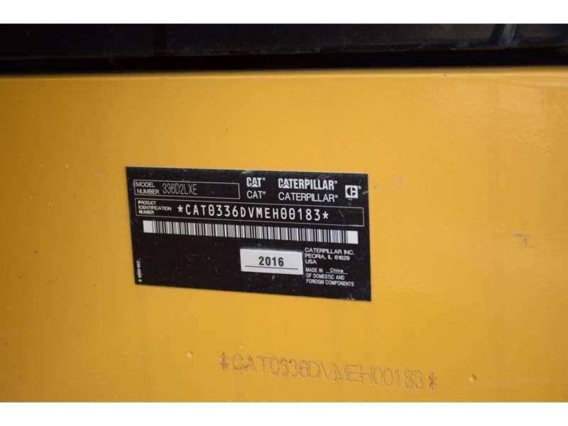 CATERPILLAR KOPARKI GĄSIENICOWE 336 D2 L XE equipment  photo 5