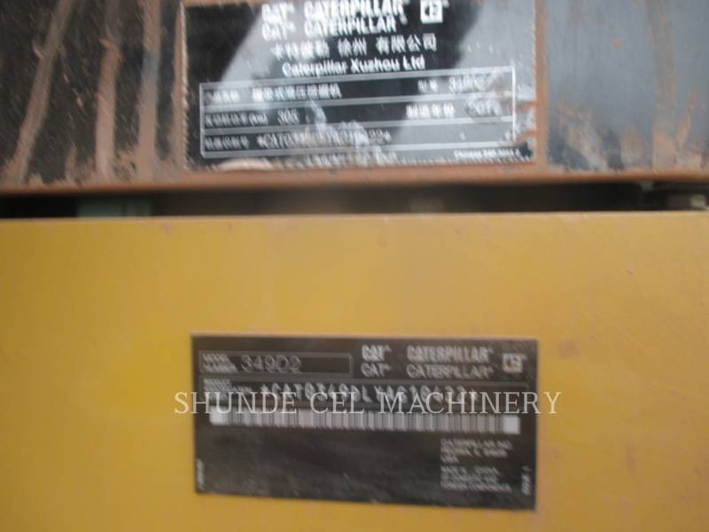 CATERPILLAR EXCAVADORAS DE CADENAS 349D2 equipment  photo 2