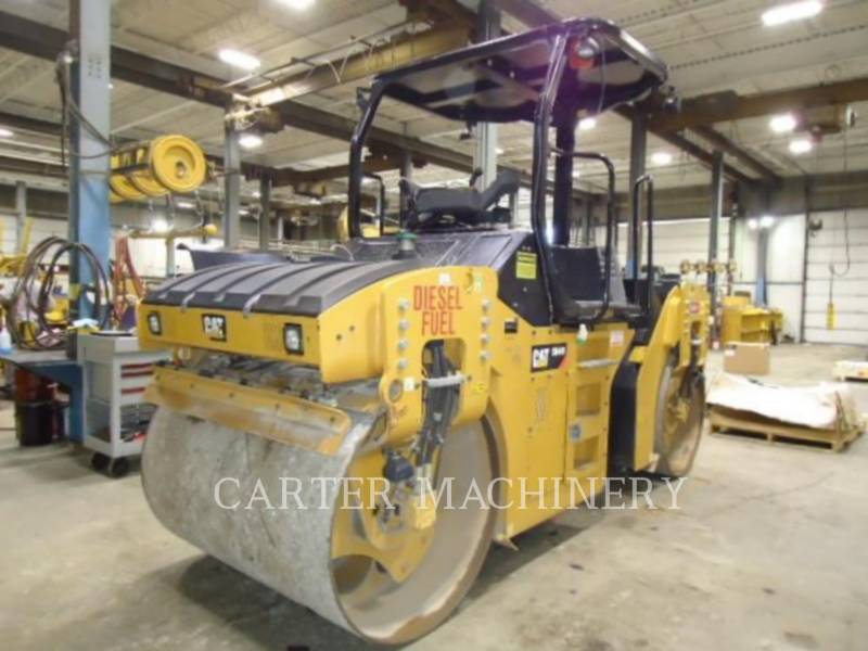 CATERPILLAR TANDEMVIBRATIONSWALZE, ASPHALT CB44B equipment  photo 5