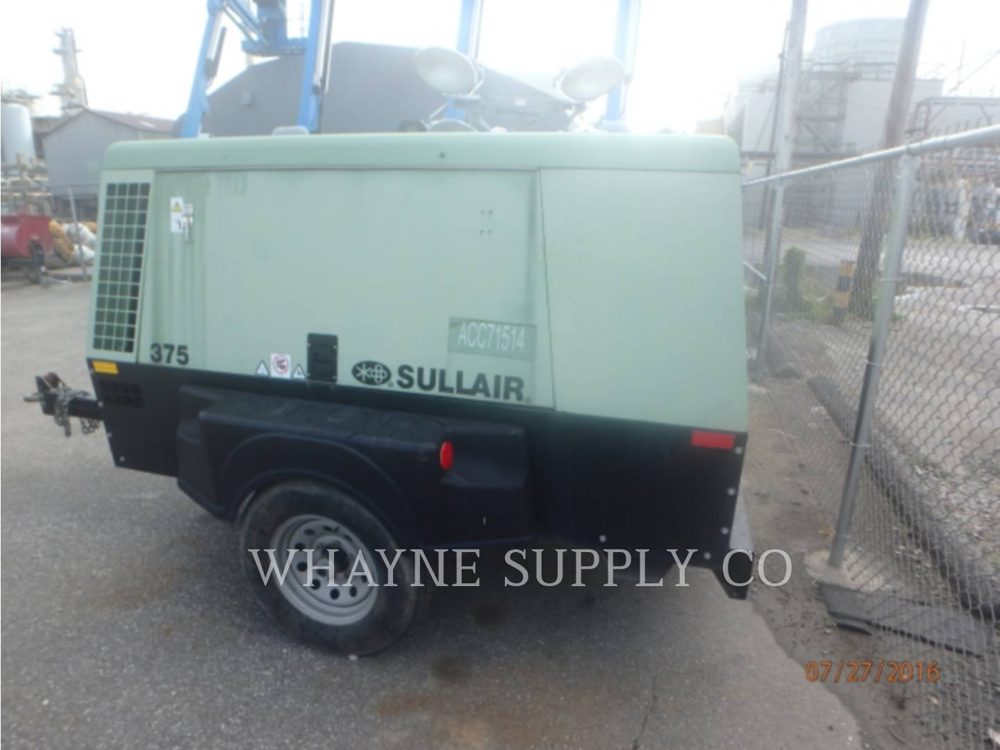 Detail photo of 2011 Sullair 375CFM from Construction Equipment Guide