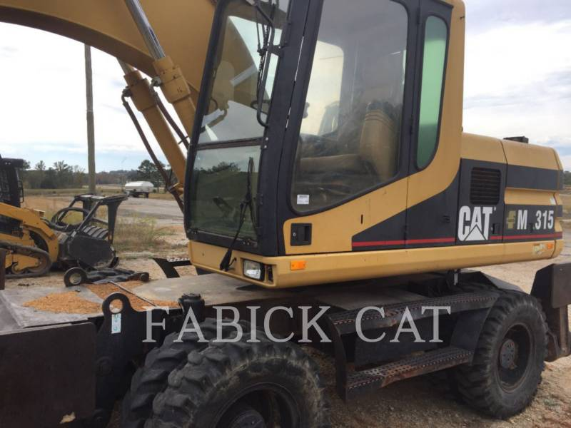 CATERPILLAR EXCAVADORAS DE RUEDAS M315 equipment  photo 3