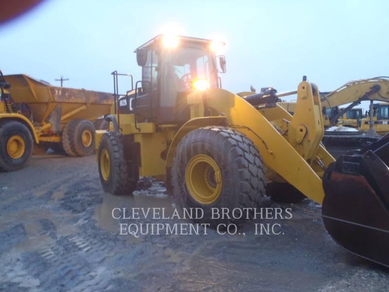 CATERPILLAR WIELLADERS/GEÏNTEGREERDE GEREEDSCHAPSDRAGERS 962M equipment  photo 2