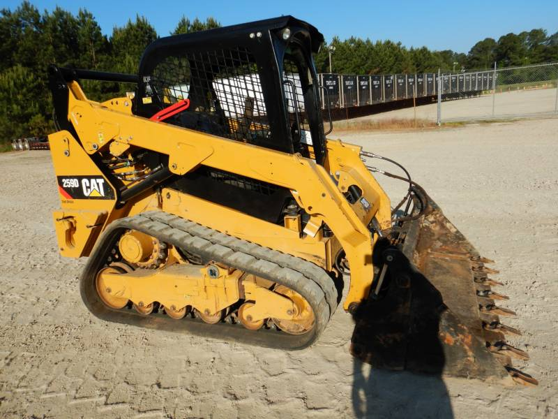 CATERPILLAR MULTI TERRAIN LOADERS 259 D equipment  photo 1
